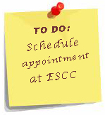 Schedule now at ESCC